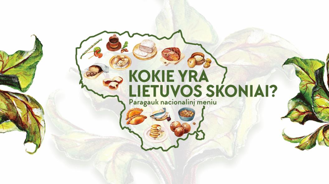Kokie yra Lietuvos skoniai? Paragauk nacionalinį meniu