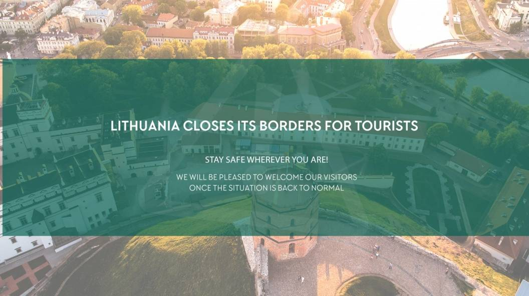 Lithuania closes borders due to COVID-19