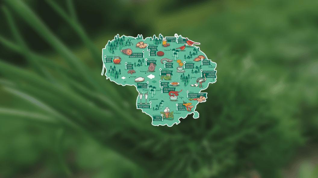 Lietuva lėkštėje: vėžių uodegėlių sriuba, ledai su dilgėlėm ir pieno šampanas